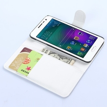 Fashion classical leather pouch case for samsung a3
