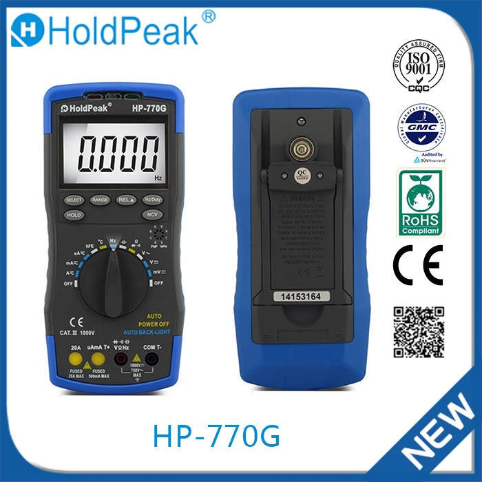 HP-770G China wholesale 1999 Display widely use digital multimeter