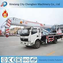 China Famous Power Energy Saving Off-road Mobile Pickup Truck Cranes With High Quality