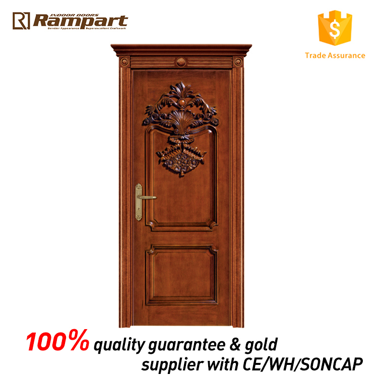 Reliable and Good wooden front door designs with custom logo