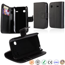 book style PU leather mobile phone case for SAMSUNG Galaxy Gio S5660