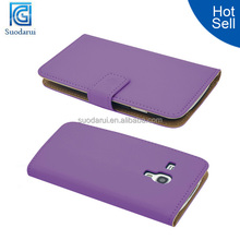Wallet Slim Leather case for Samsung Galaxy S3 Mini i8190 cover Mix color