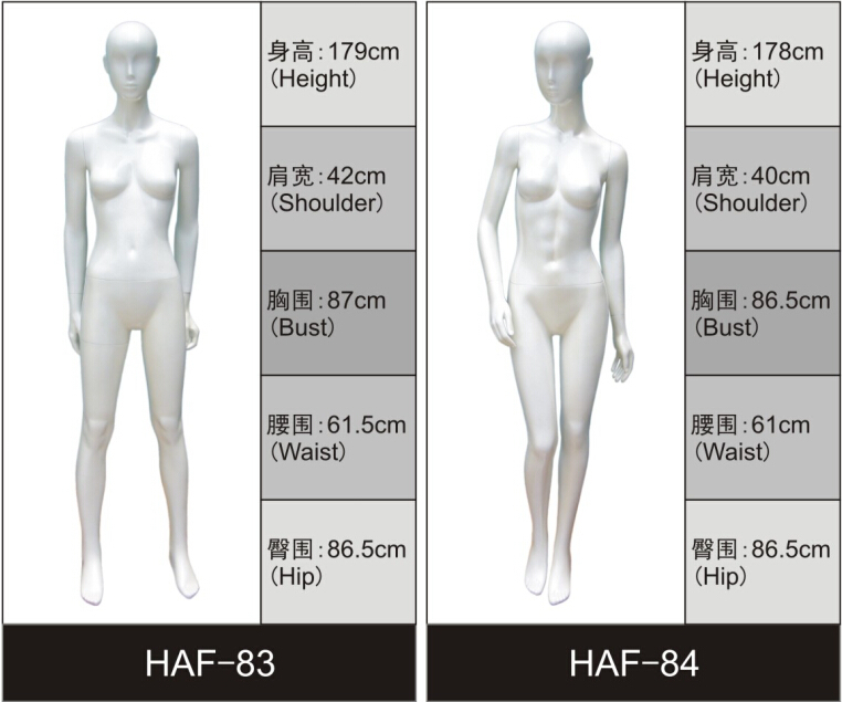 hot sale fiberglass glossy female virtual mannequin