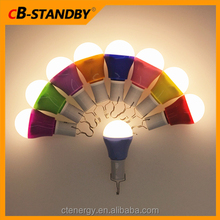 USB Charge Multi Color Globe Bulb Lights 5W Dimmable for Wedding Party Family Day Garden