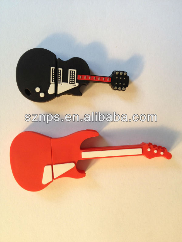 Top sale 100% real capacity guitar usb gadgets