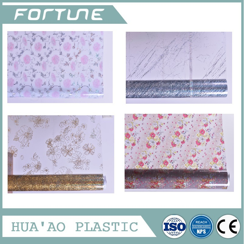gold and silver tablecloth transfer printed table cover fruit and flower designs laminated super clear table cover