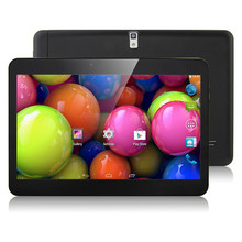 Wholesale MTK CPU 10 Inch Android Tablets PC 1GB 16G WIFI Bluetooth Dual camera 1024*600 lcd 10 tab pc Tablet PC
