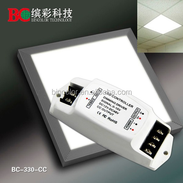 Constant current 0-10V led dimmer 350mA dimmable 0-10V dimming driver Dc12V
