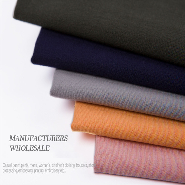 cotton spandex shirting fabric 120gsm pima cotton lycra fabric