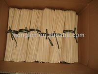natural high quality bamboo sticks for bbq's,paint brush,christmas decorative