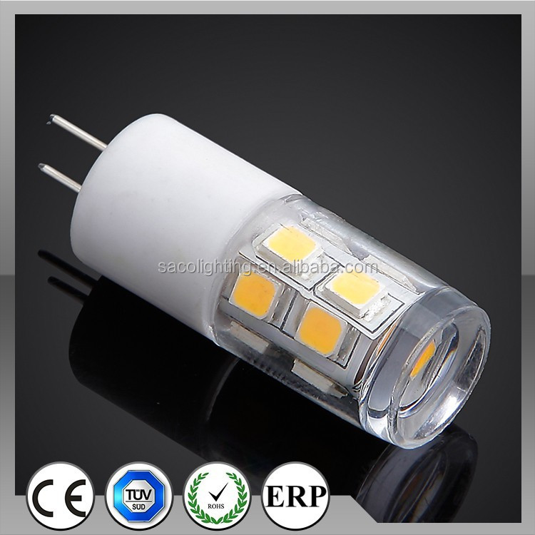 2015 hot selling 350lm 400lm g4 led 12v 10w
