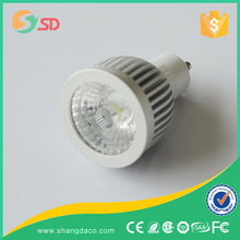 wholesale DC12V AC220V aluminum 3w led spotlight MR16 dimmable 5w cob gu10 led spot light
