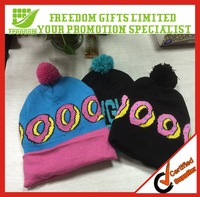 Fashion in winter 100% Cotton Knitting Hat