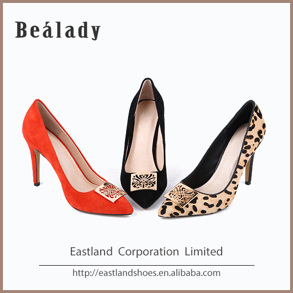 Factory price wholesale fashion women sexy high heel shoes