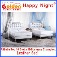 FOSHAN Adult Sex Furniture Queen Size Canopy Bed (HG957#)