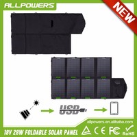 Allpowers Large Power Solar Charger Ourdoor Portable Foldable Solar Chargers for iphone samsung HTC cellphones and laptops.