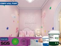 Natural Interior Textured House Paint for Kid Room