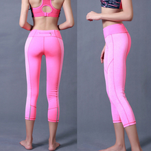 Women Fitness Clothes Newest Design High Quality Ladies Capri Trousers Cheap Yoga Pants