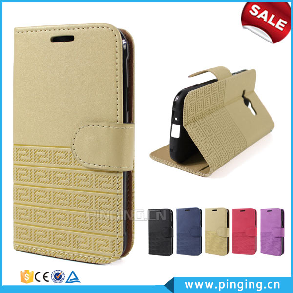 High Quality Retro Pattern Card Slot Wallet Stand PU Leather Flip Case For Huawei GX5
