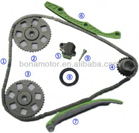 For SATURN 116 ci 1.9L 4 cyl 1999-02 timing chain kits