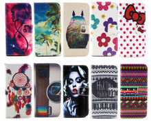Multi images cute leather mobile phone cover for iPhone 6