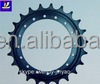 2017 hot sale undercarriage parts sprocket, excavator ZX330 wheel sprocket, excavator sprocket in high technology