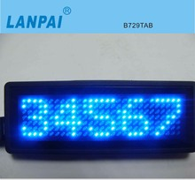 Programmable Electronic Mini name board led lighting with Dry battery