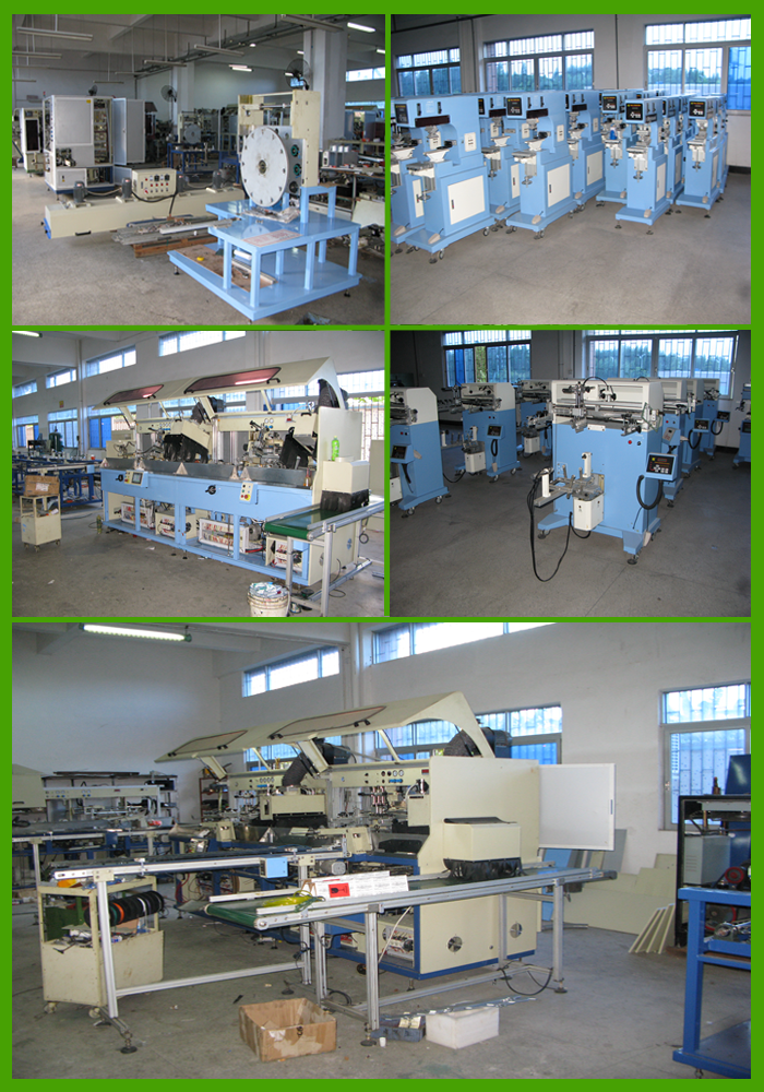 High precision closed cup pad printing machine