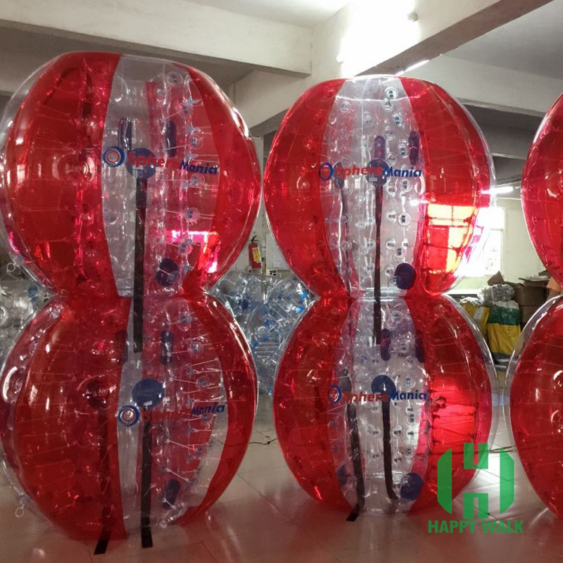Happy Sky Customer Bumper Soccer Balls, Soccer Bubble Footballs Game, Inflatable colorful soccer balls