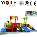 Hottest design kids playground equipment high quality plastic slide cheerful outdoor toys