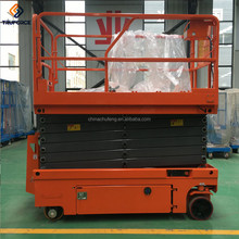 12m CE/ISO-Approved Small Skyjack Self Propelled Hydraulic Mobile Electric Scissor Lift Rates