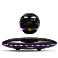 2017 Innovative UFO Design Stereo Sound Portable Bluetooth Speaker Magnetic 360 Degree Floating Levitating Bluetooth Speaker