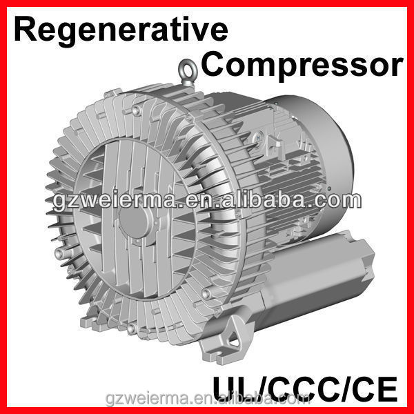 Hot-sale Regenerative Blower for Guillotines/Joggers in Printing Industry
