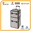 professional cosmetic case manufacturer, hairdresser carrying case with wheels