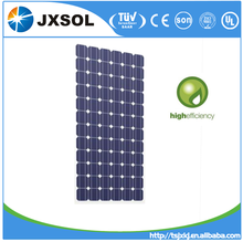 Monocrystalline Silicon High Power Efficiency Solar Panels 200 Watt with TUV IEC certificate