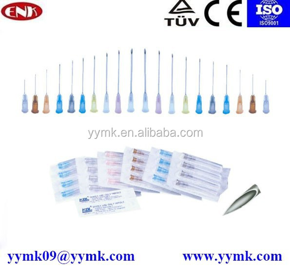 Medical use disposable injection syringe needle 31gauge 8mm