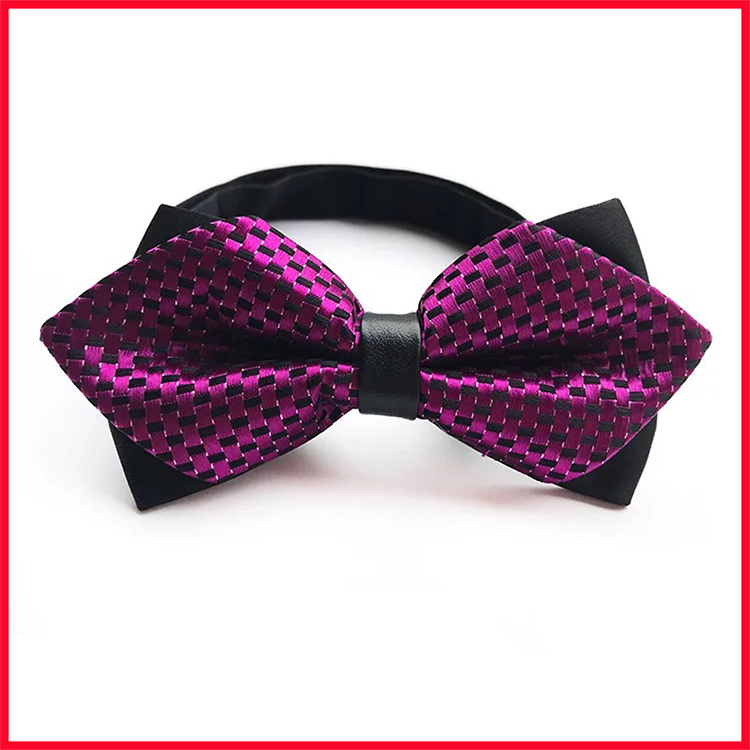 2019 Red Paisley Mens Bow Ties Party Wedding Stylish Bowties