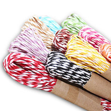 10 Color 50 Yards Twisted Paper Craft String/Cord/Rope