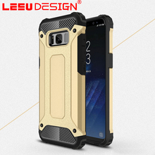 Slim TPU+PC hybrid case for Samsung galaxy s8 plus shockproof armor case for sale