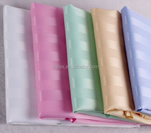 100% polyester jacquard stripe plain dyed colored hotel bathroom shower curtain