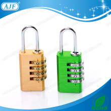 AJF High security and quality 4 digits aluminium colored gym locker fitness club number lock
