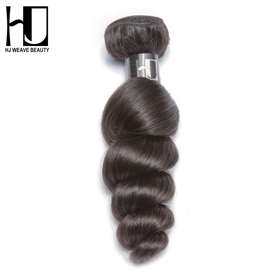 HJ WEAVE BEAUTY 7A Peruvian virgin hair loose wave wholesale price