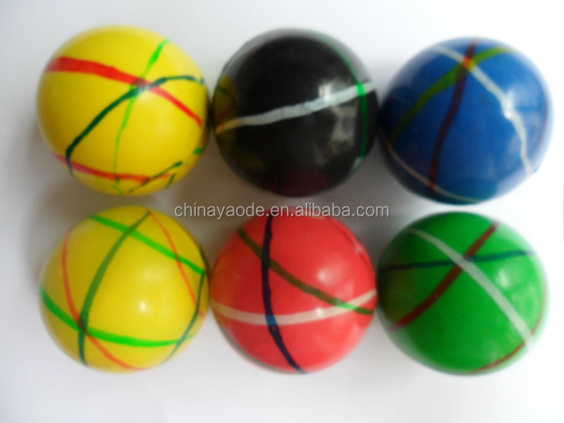 Rubber bouncing ball toy/ China cheap bouncy balls