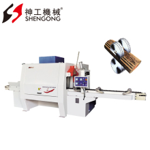 Wood Cutting Machine, Multi Rip Round Log Saw