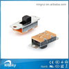 High quality newly miniature 2/3 way electrical slide switch 3 pin