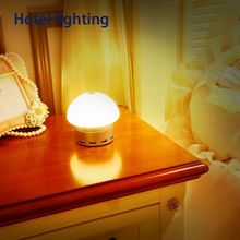 Touch Control Smart Charging Bedside Lamp Hotel Table Lamp With 6 USB Port Charger