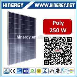250w mono and poly pv solar panel/module 12v 250w solar panel module 250w 60cell panels