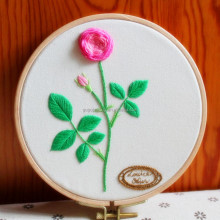 2018 new fashion craft kit cross stitch kit sewing diy embroidery kit rose