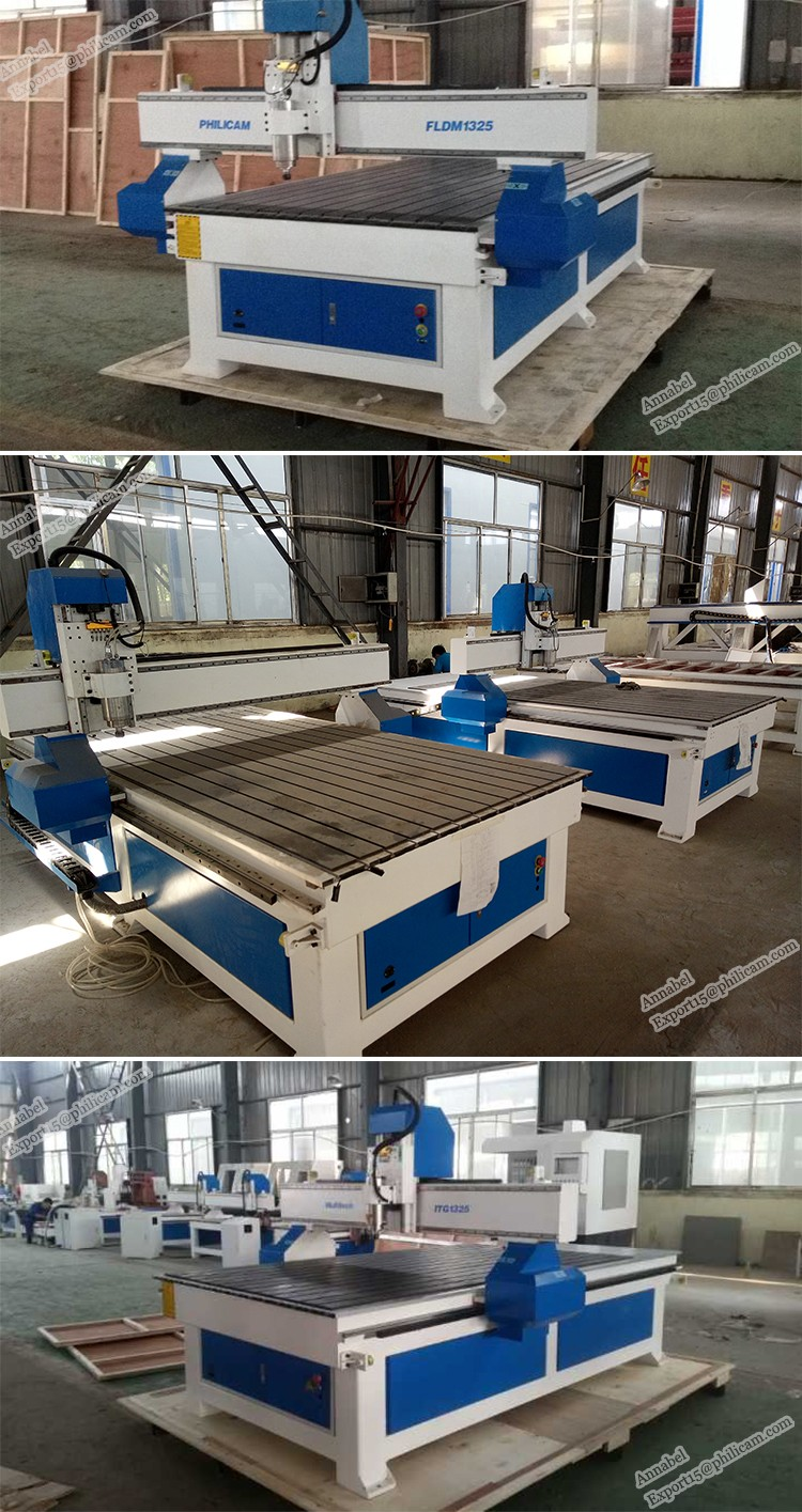 Chinese High Precision Wood CNC Router Machine for Aluminum