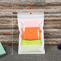 hot sale fashion zip lock plastic pouch for underwear packaging